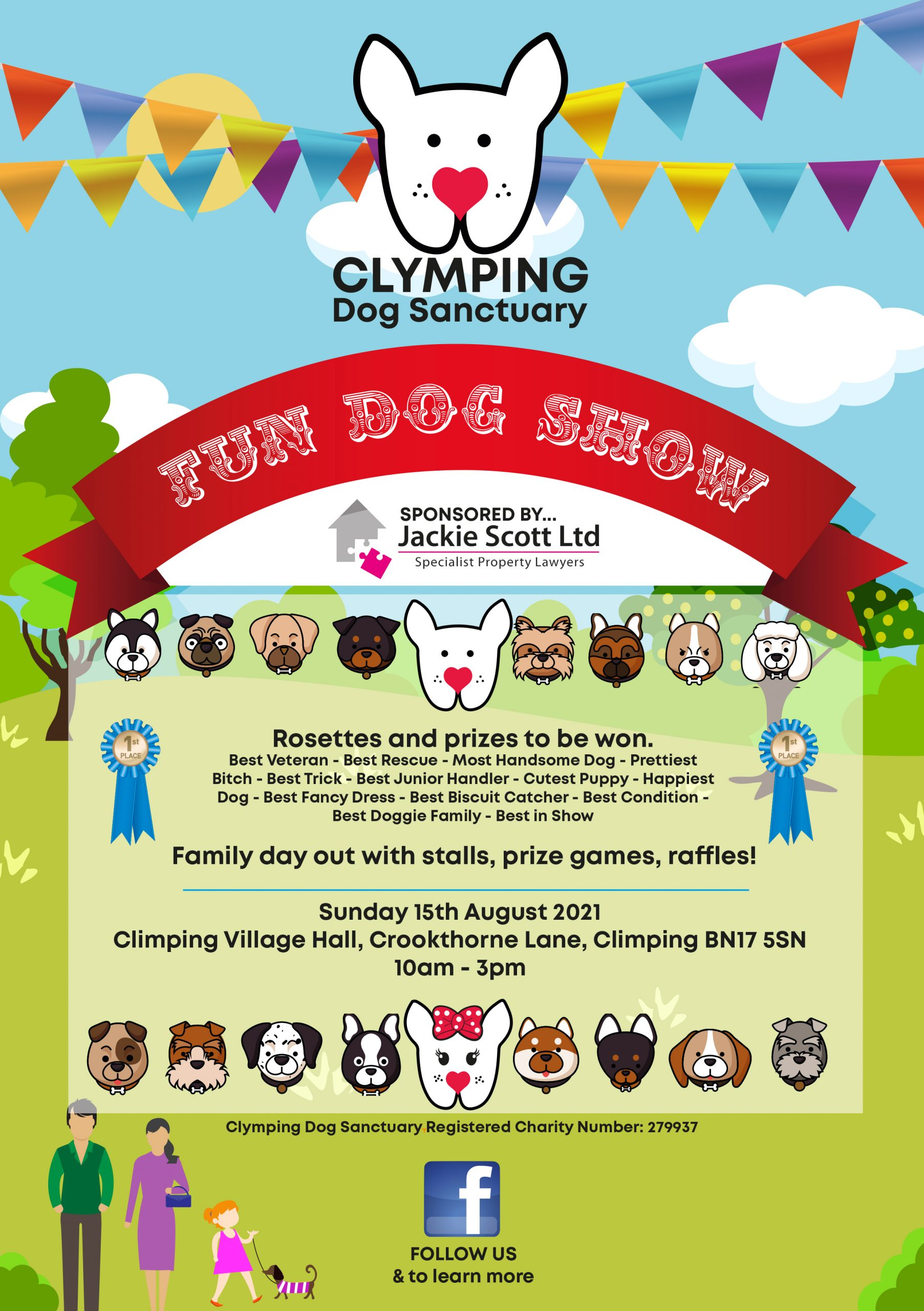 2021 Dog Show! Get it in your diary!